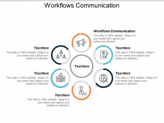 Workflows Communication Ppt PowerPoint Presentation Summary Layout Cpb