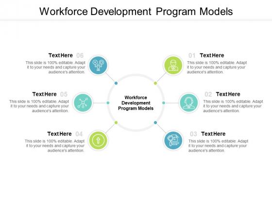 Workforce Development Program Models Ppt PowerPoint Presentation Gallery Aids Cpb