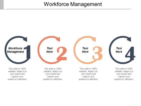 Workforce Management Ppt Powerpoint Presentation Professional Vector Cpb
