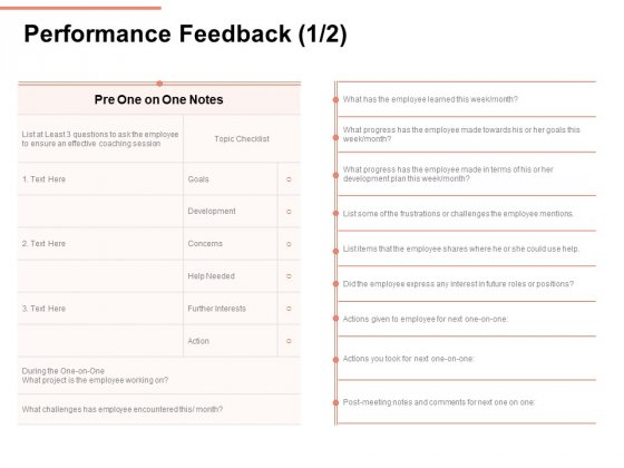 Workforce Planning System Performance Feedback Ppt PowerPoint Presentation Pictures File Formats PDF