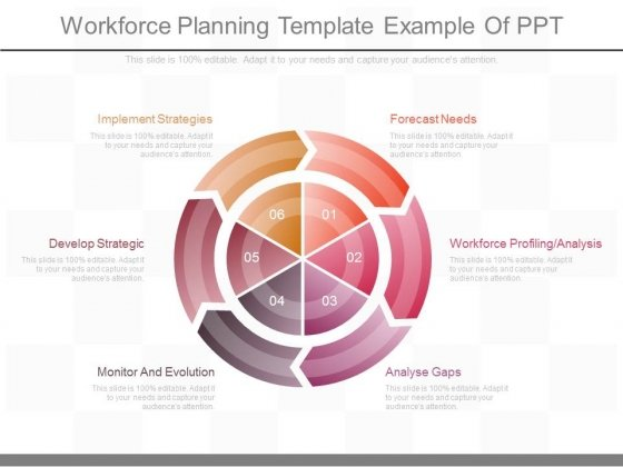 workforce planning template example of ppt powerpoint templates