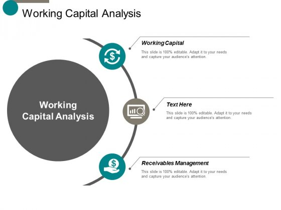 Working Capital Analysis Ppt Powerpoint Presentation Model Grid