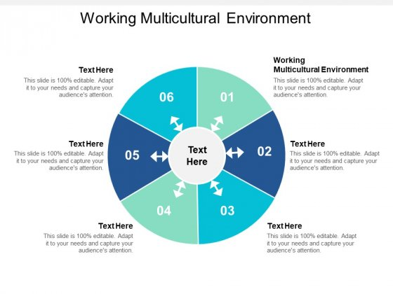 Working Multicultural Environment Ppt PowerPoint Presentation Styles Images Cpb