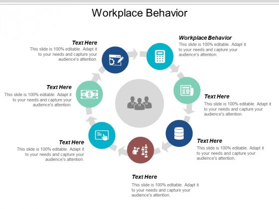 Workplace Behavior Ppt PowerPoint Presentation Ideas Format Cpb