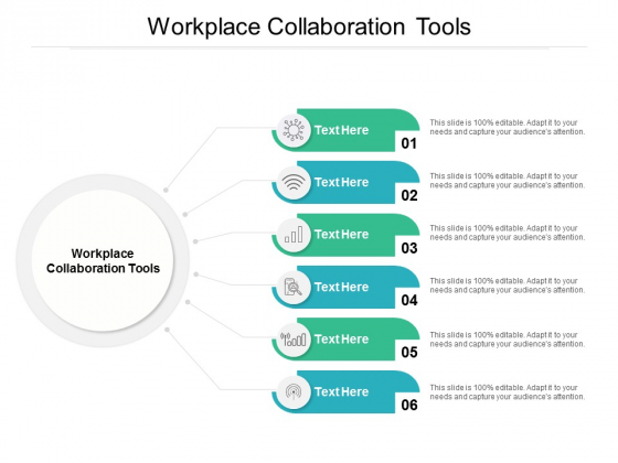 Workplace Collaboration Tools Ppt PowerPoint Presentation File Slides Cpb