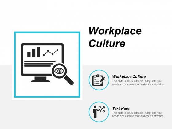 Workplace Culture Ppt Powerpoint Presentation Slides Rules Cpb