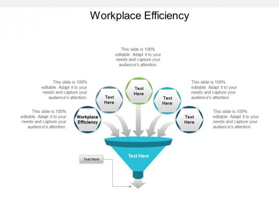 Workplace Efficiency Ppt PowerPoint Presentation Show Sample