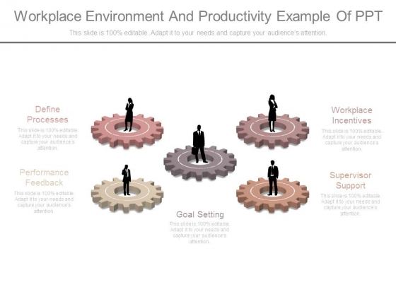 Workplace Environment And Productivity Example Of Ppt