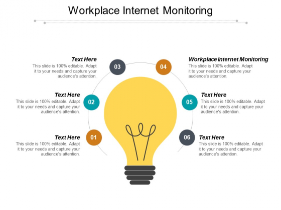 Workplace Internet Monitoring Ppt PowerPoint Presentation Summary Display Cpb