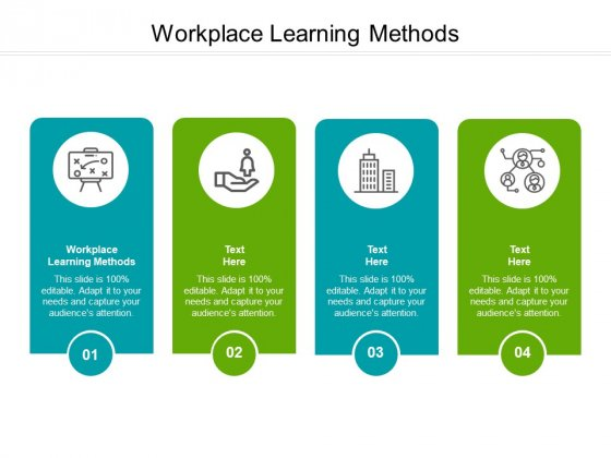 Workplace Learning Methods Ppt PowerPoint Presentation Summary Mockup Cpb Pdf