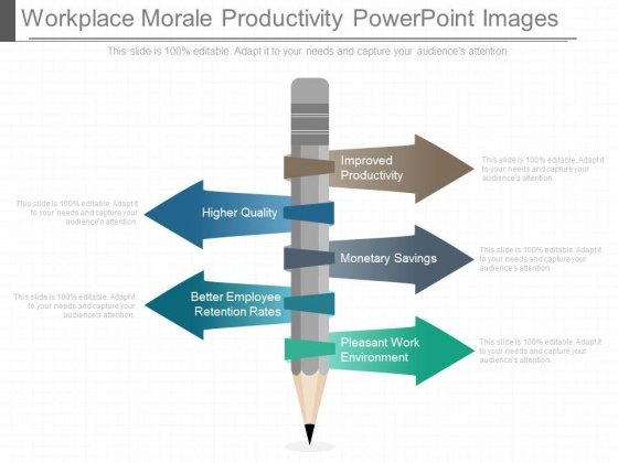 Workplace Morale Productivity Powerpoint Images