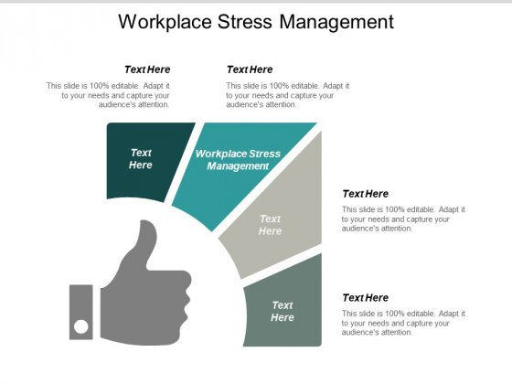 Workplace Stress Management Ppt PowerPoint Presentation Clipart Cpb