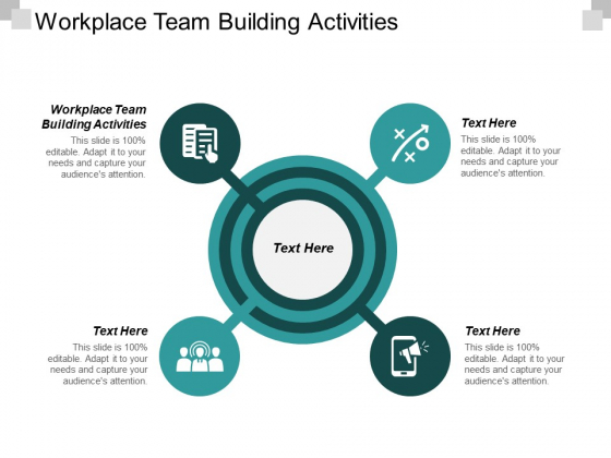 Workplace Team Building Activities Ppt PowerPoint Presentation File Guidelines Cpb