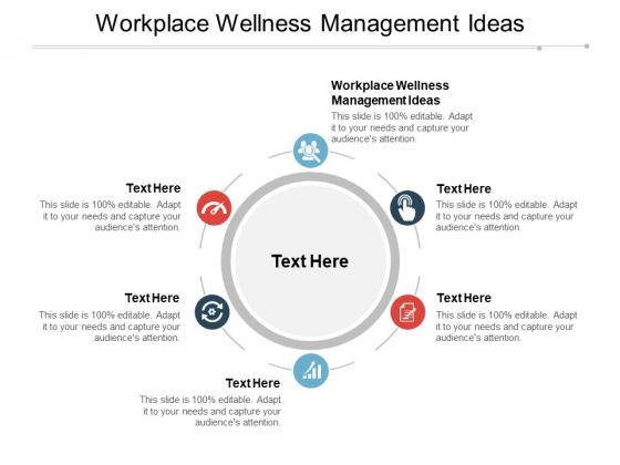 Workplace Wellness Management Ideas Ppt PowerPoint Presentation Infographic Template Design Inspiration