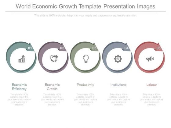 World Economic Growth Template Presentation Images