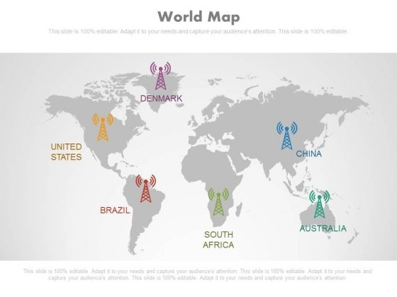 world map ppt slides powerpoint templates