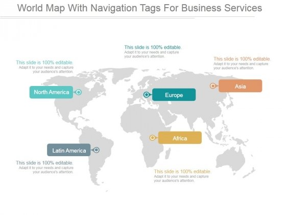 World map with navigation tags for business services ppt powerpoint world map with navigation tags for business services ppt powerpoint presentation slide download powerpoint templates gumiabroncs Gallery