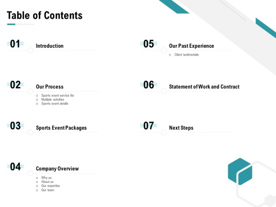 Worldwide Tournament Table Of Contents Introduction Ppt Layouts Graphics PDF