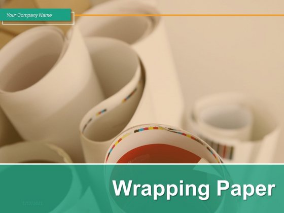 Wrapping_Paper_Cylindrical_Shape_Dollar_Paper_Ppt_PowerPoint_Presentation_Complete_Deck_Slide_1