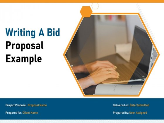 Writing A Bid Proposal Example Ppt PowerPoint Presentation Complete Deck With Slides