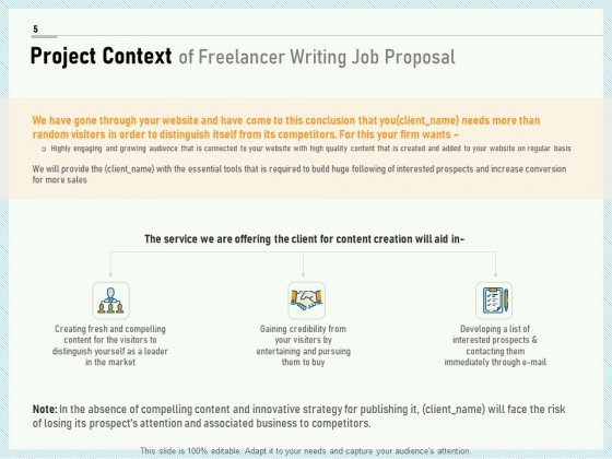 Writing_A_Bid_Proposal_Example_Ppt_PowerPoint_Presentation_Complete_Deck_With_Slides_Slide_5