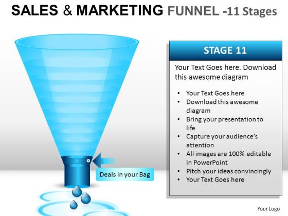 Water Dropping Through Sales Funnel PowerPoint Slides And Ppt Diagram Templates