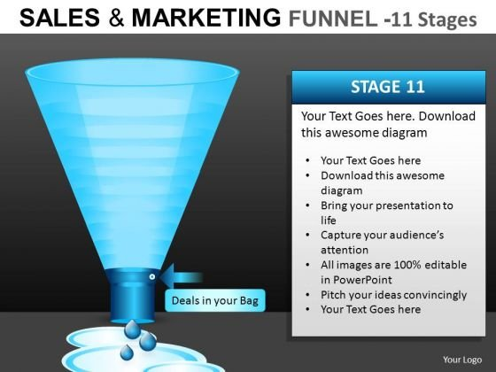 Water Funnels PowerPoint Diagrams