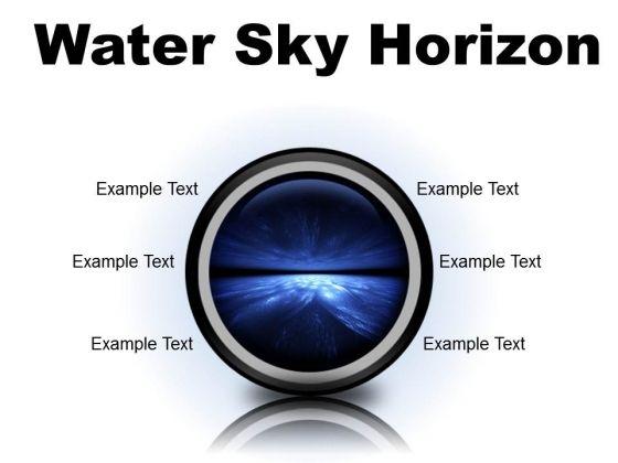 Water Sky Horizon Abstract PowerPoint Presentation Slides Cc