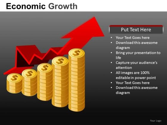 Wealth Growth Finance PowerPoint Templates
