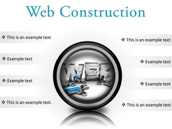 Web Construction Industrial PowerPoint Presentation Slides Cc