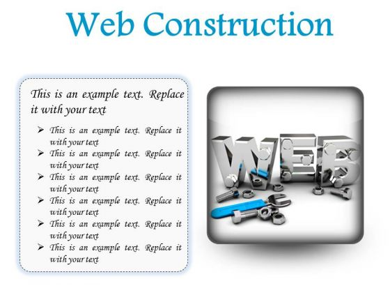 Web Construction Industrial PowerPoint Presentation Slides S