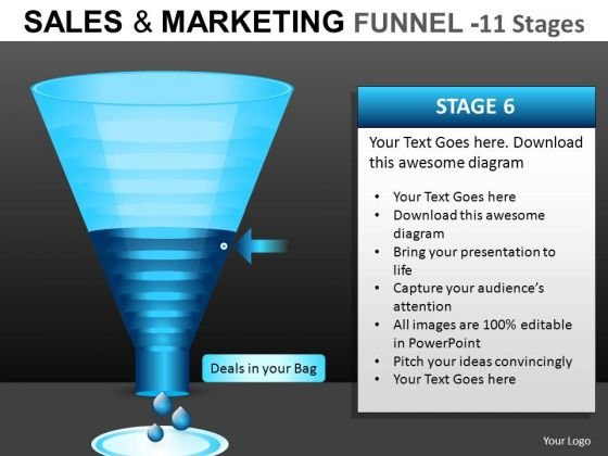 Web Conversion Funnel PowerPoint Slides