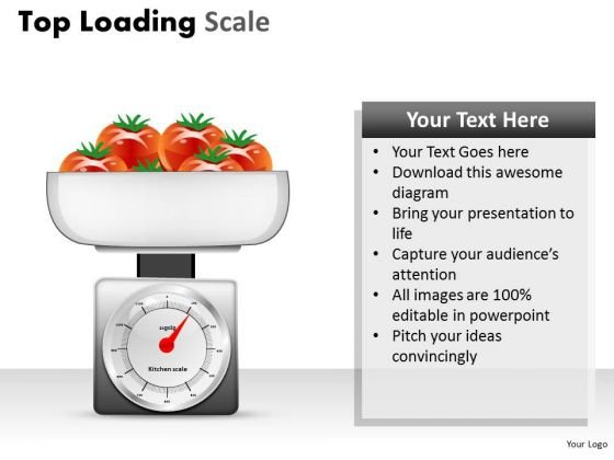 Weighing Tomatoes PowerPoint Slides And Weighing Scale Ppt Templates