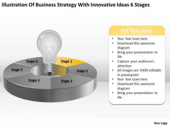 With Innovative Ideas 6 Stages Ppt 2 Financial Business Plan Template PowerPoint Templates