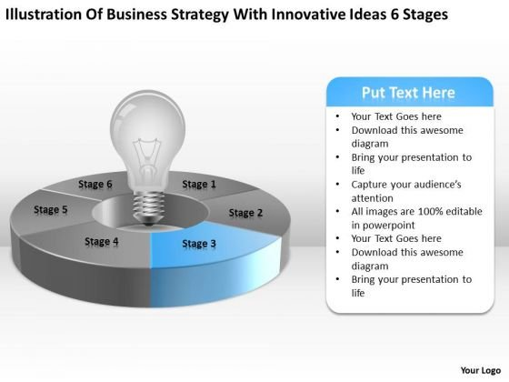 With Innovative Ideas 6 Stages Ppt 4 Tips For Writing Business Plan PowerPoint Templates