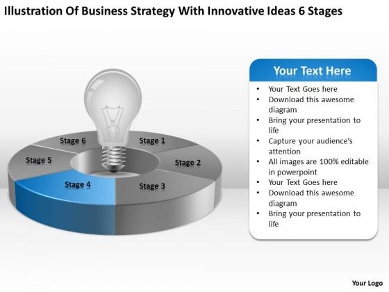 With Innovative Ideas 6 Stages Ppt 5 Free Non Profit Business Plan Template PowerPoint Slides