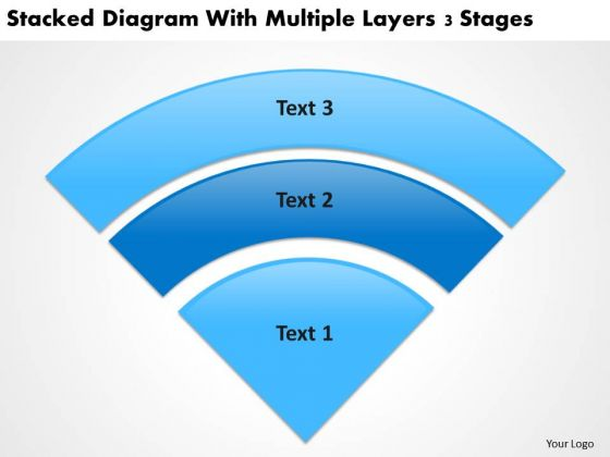 With Multiple Layers 3 Stgaes Real Estate Investing Business Plan PowerPoint Templates