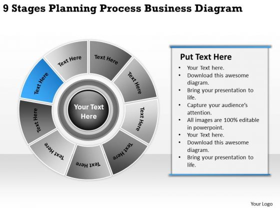 World Business PowerPoint Templates Diagram Of Plan