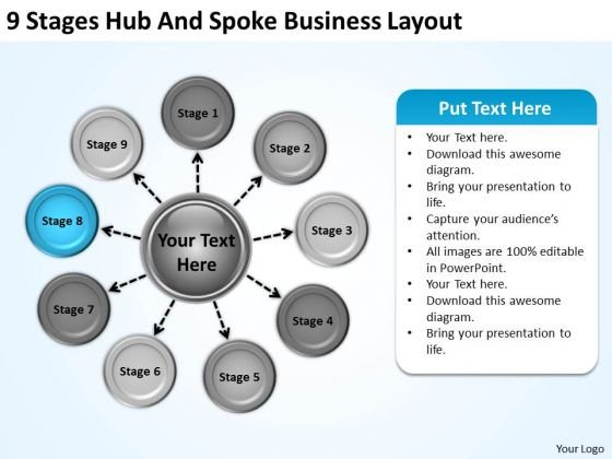 World Business PowerPoint Templates Layout Plan Companies