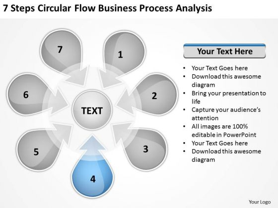 World Business PowerPoint Templates Process Analysis Sample Plans Slides
