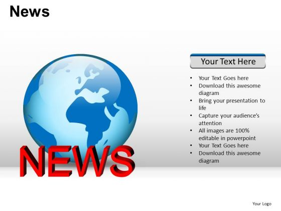 World News PowerPoint Slides And Ppt Diagram Templates