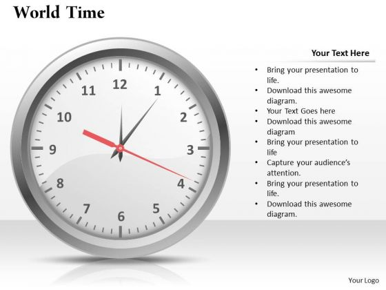 World Time PowerPoint Presentation Template