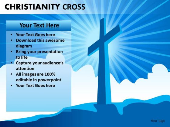 Worship Jesus PowerPoint Ppt Templates