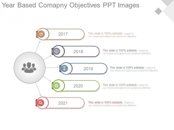Year Based Company Objectives Ppt Images
