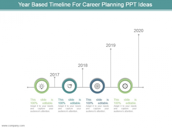 Year_Based_Timeline_For_Career_Planning_Ppt_Ideas_1