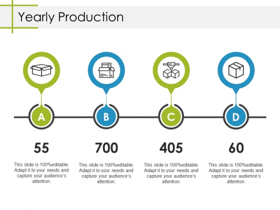 Yearly Production Ppt PowerPoint Presentation File Samples