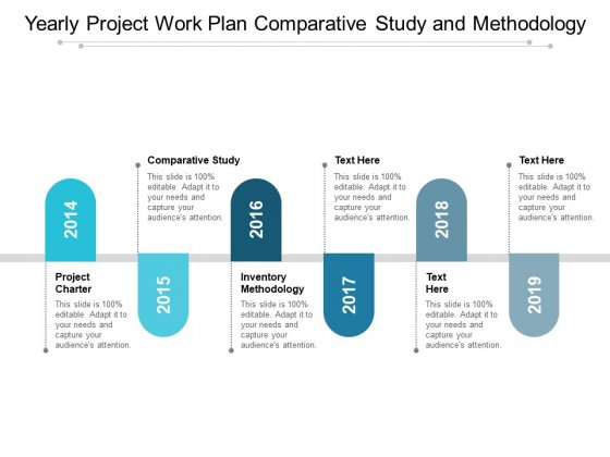 Yearly Project Work Plan Comparative Study And Methodology Ppt PowerPoint Presentation Show