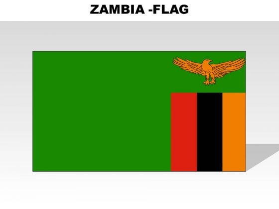 Zambia Country PowerPoint Flags