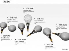 0814 Stock Photo Creative Idea Bulb Conceptual Image PowerPoint Slide
