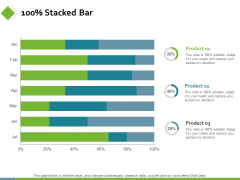 100 Percent Stacked Bar Finance Ppt PowerPoint Presentation Model Templates